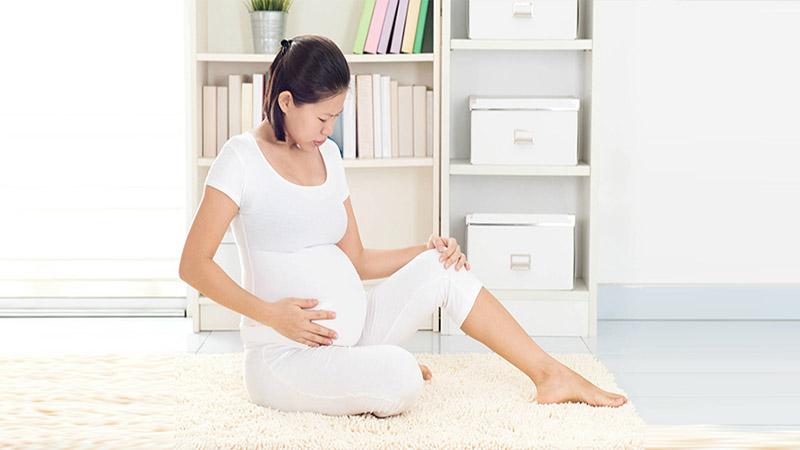 علت ورم و درد پا در بارداری